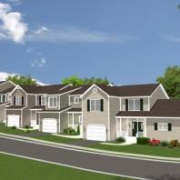 Rendering of Holochuck Homes Development