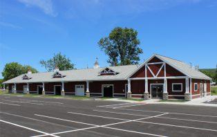 Image of exterior farmer's market building