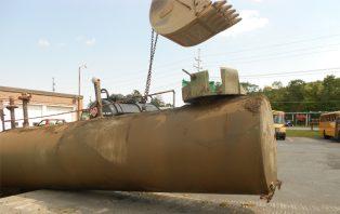 Image of underground tank removal
